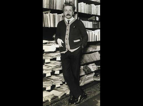 "Albert ""The Dandy Physicist"" Einstein"